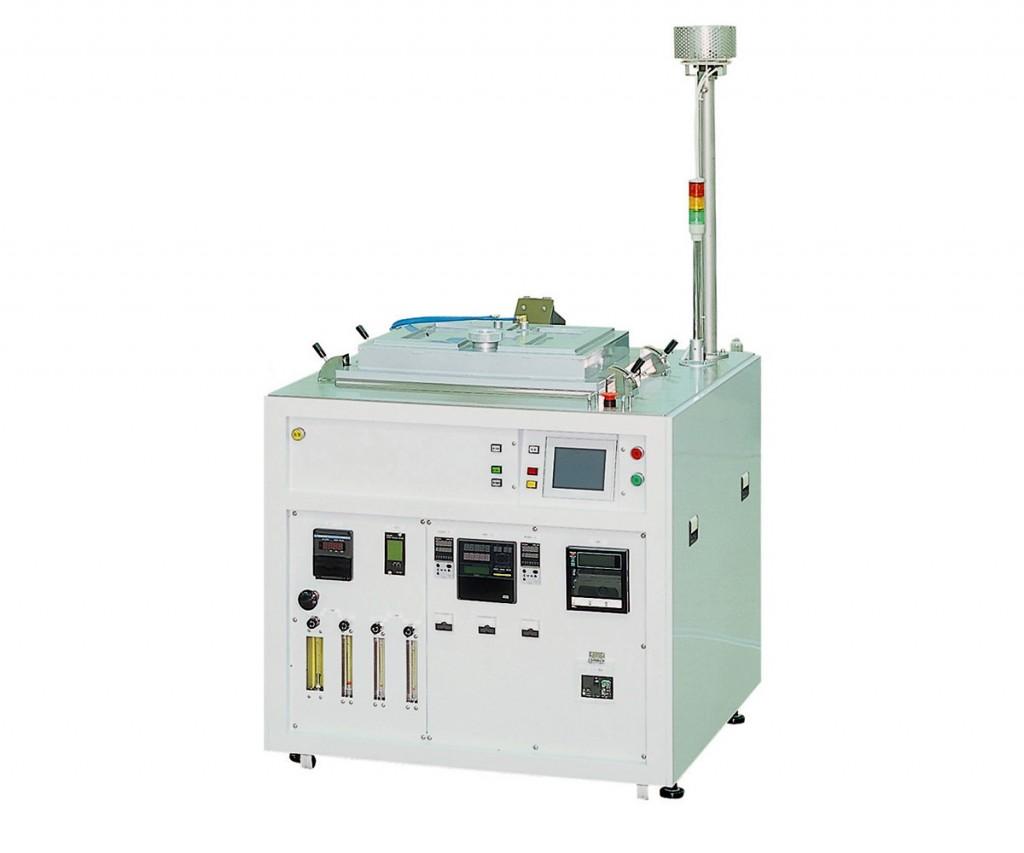 Batch-type vacuum soldering unit