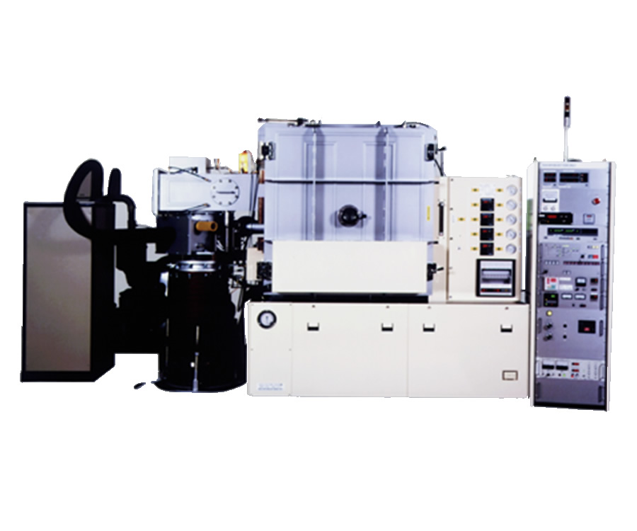 Arc discharge type magnetron sputtering system