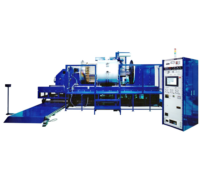 Arc discharge type high-vacuum ion plating system