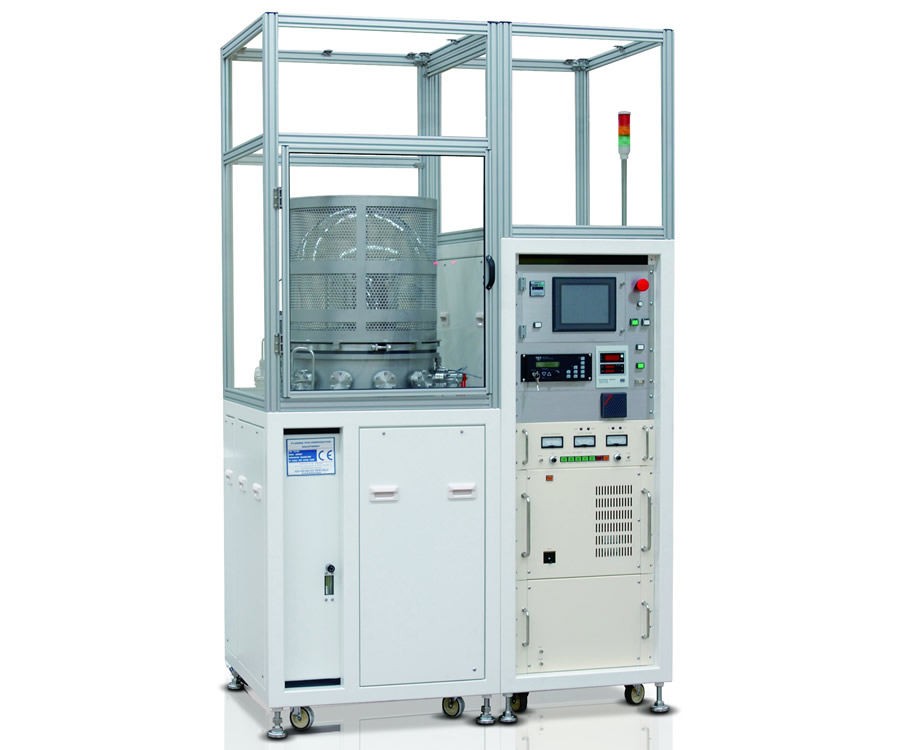 Batch type plasma polymerization system