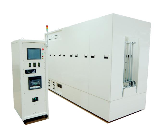 Load-lock type plasma polymerization system