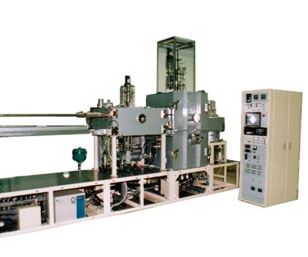 Load-lock type vapor deposition system