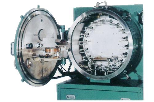 Horizontal vapor deposition system
